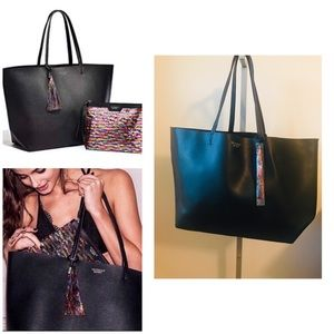 Victoria's Secret Black Tote (only)